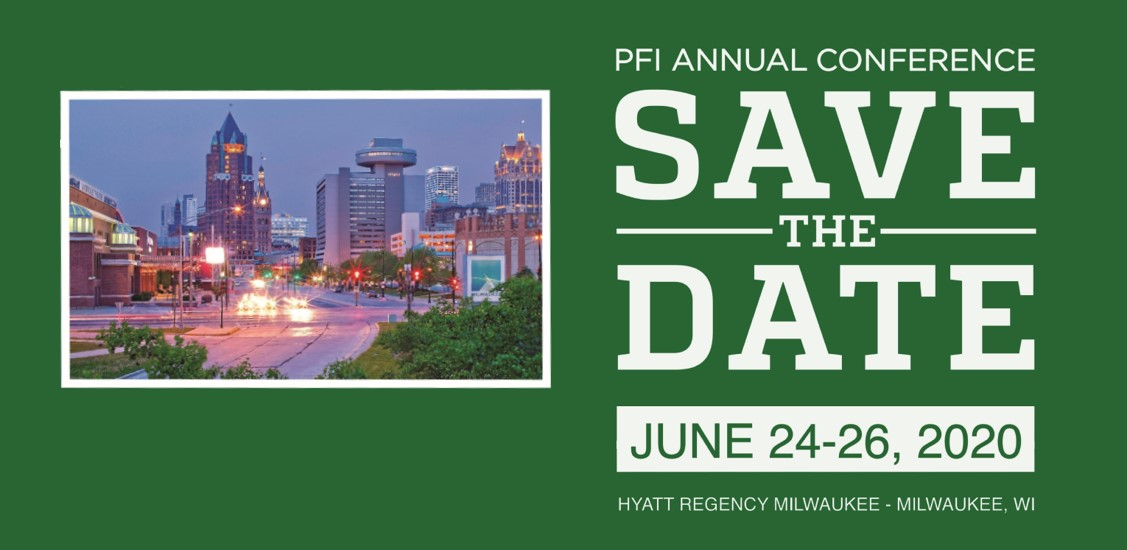 Flyer: Save the Date PFI Conference
